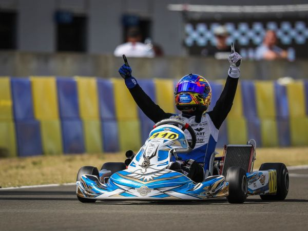 CVPG / Lorenzo Travisanutto - FIA Karting European champion 2019!