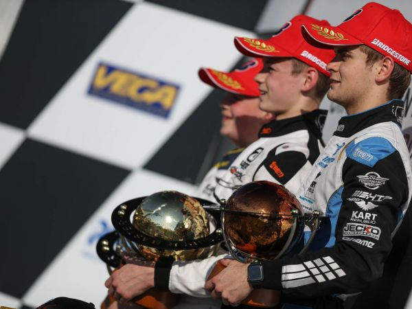 CV Performance Group ends WSK on the podium 2019